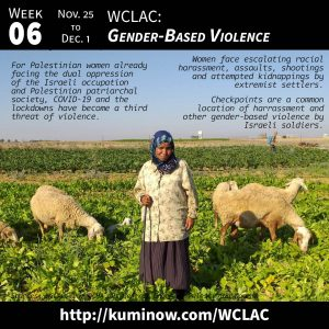 Week #6: WCLAC and Gender-Based Violence