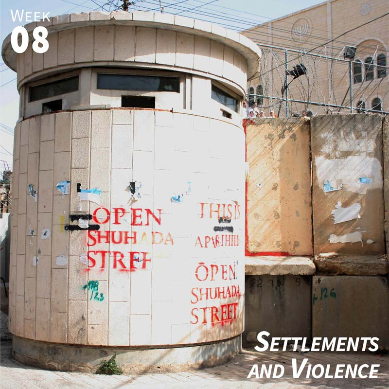 Week 8: Settlements and Violence