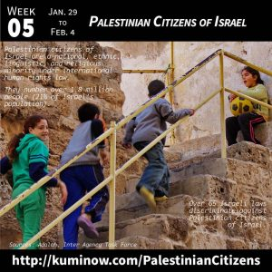 Week #5: Palestinian Citizens of Israel Newsletter