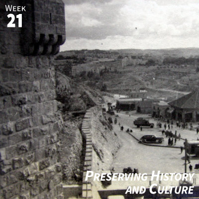 Week 21: Preserving History and Culture