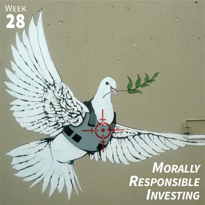 Week 28: Morally Responsible Investing