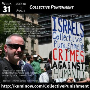 Week 31: Collective Punishment Newsletter
