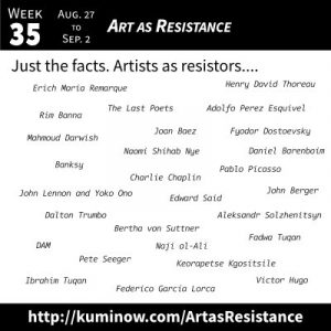 Just the Facts: Art as Resistance