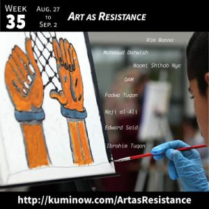 Week 35: Art as Resistance Newsletter