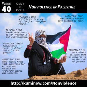 Week 40: Nonviolence in Palestine Newsletter